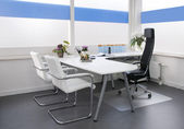 Clean white office — 图库照片