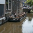 Stock Photo: Floating terrace in Delft
