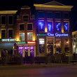 Nightlife in Groningen — Stock Photo