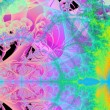 Utopia Garden I - Abstract Fractal Background — 图库照片