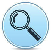 Magnifier Icon — Vector de stock