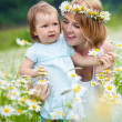 Mother with daughter — Stock Photo #10837616