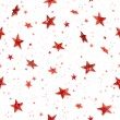 Seamless red stars — Stock Photo