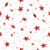Seamless red stars — Stock Photo