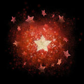 Christmas background of structured stars — Stock Photo