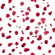 Seamless rose petals - Stock Photo