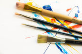 Several brushes — Stock Photo