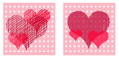 Valentine cards — Stock Photo