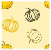 Pumpkin seamles — Stock Photo