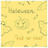 Halloween seamless — Stock Photo