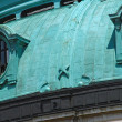 Patina colored top building details — Stock Photo #10782493