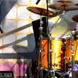 Stage and drum section - Stock Photo