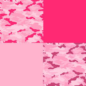 Pink Camo Papers — Stock Photo