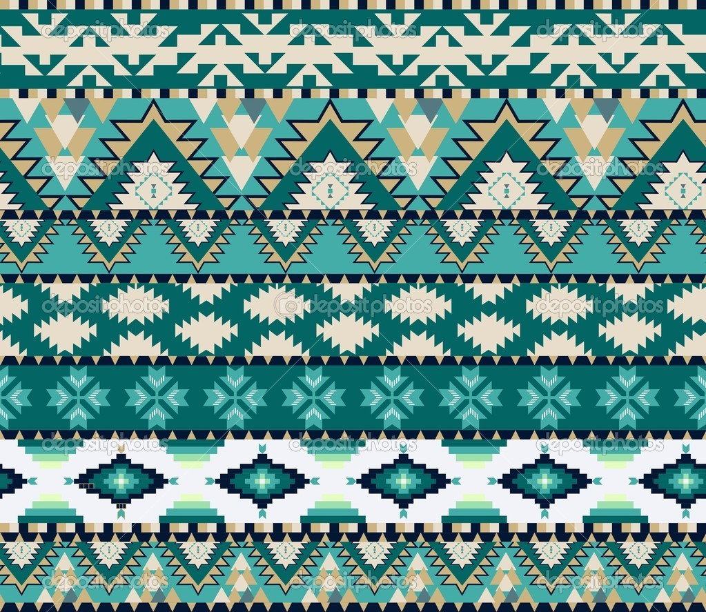 Aztec Designs And Patterns Aztecs Seamless Pattern on