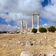 Pillars of Hercules in Amman Citadel — Stock Photo