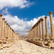 Stock Photo: Jerash, Ruins of Greco-Romcity of Gera