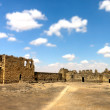 Stock Photo: al azraq castle ruins