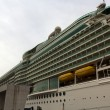 Stock Photo: Mariner of Seas cruise docked at harbor