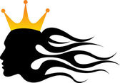 Ady roi couronne — Vecteur