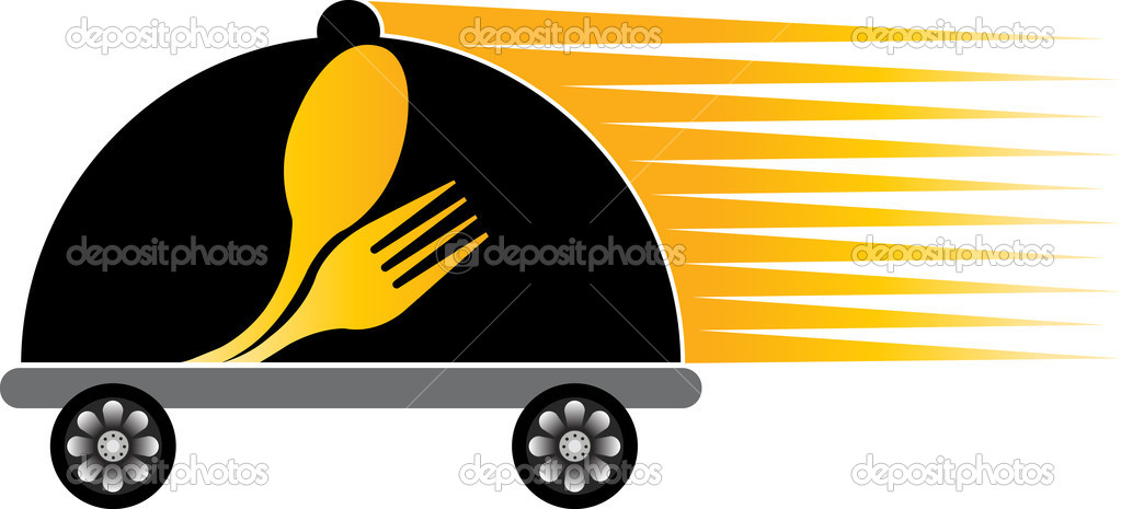 Fast delivery cooking logo — Stock Vector © magagraphics ...