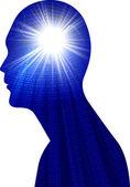 Power brain — Stock Photo