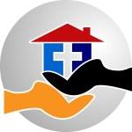 Catch home logo — Stock Vector