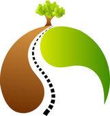 Success tree — Stock Vector
