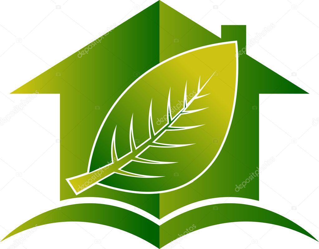 a Leaf House Logo