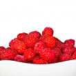 Ripe  red wild raspberries - ストック写真