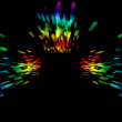 Abstract laser rays — Stock Photo #12367489