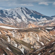 Breathtaking Landmannalaugar mountains, Iceland — Stock Photo