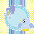 Royalty-Free Stock ベクターイメージ: Baby background