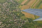 Uçaktan görüntüleme — Stok fotoğraf