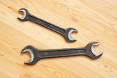 Two spanners — Foto Stock