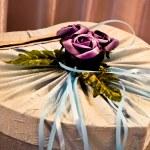 Düğün kartı kutusu — Stok fotoğraf