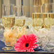 Wedding glasses — Stock Photo