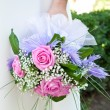 Stock Photo: Bride bouquet