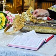 Orthodox wedding accessories — Stock Photo