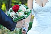 Wedding bouquet — Stock fotografie
