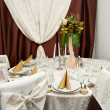 Wedding table — Stock Photo #11227309