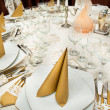Stock Photo: Wedding Table Detail