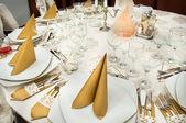 Wedding Table Detail — Stock Photo