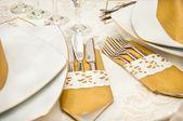 Bruiloft tabel arrangement set — Stockfoto