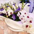Ornamental orchids for wedding — Stock Photo