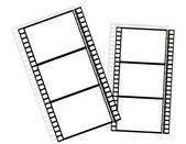 šest prázdné rámečky — Stock vektor