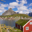 Stockfoto: Lofoten in Norway