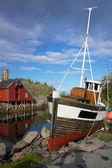 釣りボート — ストック写真