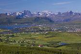 Panorama de lofoten — Photo