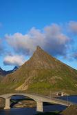 Bridges on Lofoten — Stock Photo