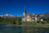 Lofoten-katedralen — Stockfoto